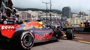 Ред Бул очаквано оглавиха времената в първата тренировка в Монако