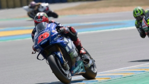 Винялес бе най-бърз на MotoGP теста в Барселона