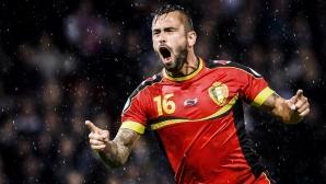 Стивън Дефур прекрати кариерата си в националния отбор на Белгия