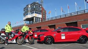Honda представи официалните автомобили и мотоциклети за ТТ на остров Ман