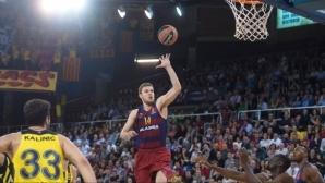 Везенков отпада от състава на Барселона за плейофите в Испания