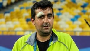 Роналдо нокаутира оператор на тренировка, извини му се с подарък (видео)