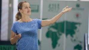 Маги Малеева изнася лекция в Париж