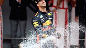 Рикардо се радва на своята възмездна победа