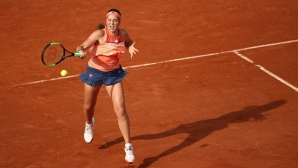 "Шампионката Остапенко отпадна на старта на ""Ролан Гарос"""