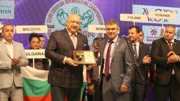 Министър Кралев откри Европейското първенство по канадска борба в София