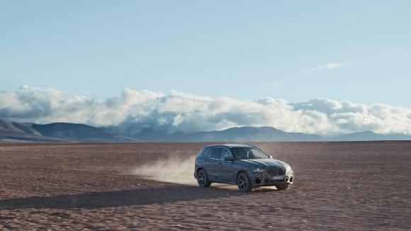 Новото BMW X5 преминава тежки тестове между Полярния кръг и Южна Африка (видео)