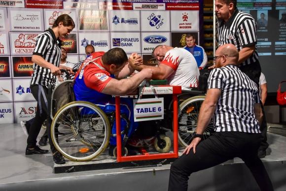 България с трима финалисти в първия ден на европейското по канадска борба за хора с увреждания
