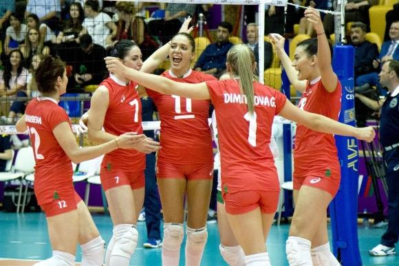 България с първа загуба в Златната европейска лига