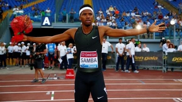 Самба с ново впечатляващо бягане на 400 м/пр, рекорд не стигна на Вархолм за първото място