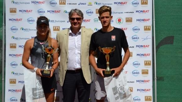 Симон-Антони Иванов и Топалова са държавни шампиони