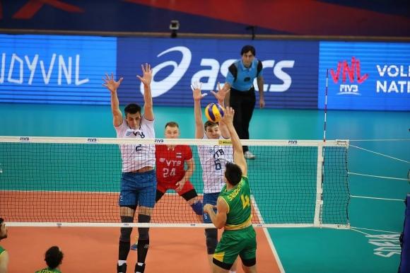 Русия с измъчена победа над Австралия в София (видео + снимки)