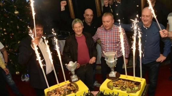 Ботев Пд поздрави легендата Динко Дерменджиев