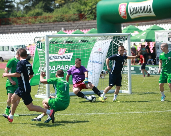 Кметът на Хасково и Бабангида откриха турнира Фен Купа 2018