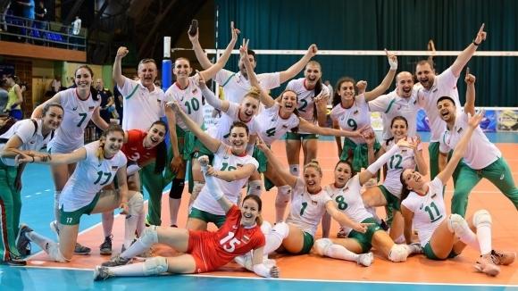 България с бърза победа над Украйна в Златната европейска лига (снимки)