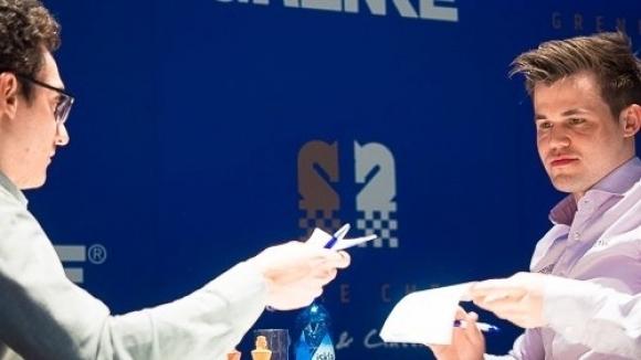 Карлсен е лидер след петия кръг на силния турнир в Ставангер