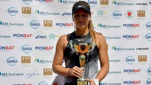 """Гергана Топалова е във втори кръг на """"Ролан Гарос"""""""