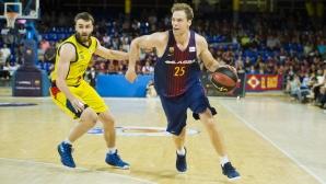 Барселона на Везенков с разгромна загуба на старта на плейофите в Испания