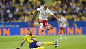 Швеция и Дания не впечатлиха в скандинавската битка преди Мондиала (видео)