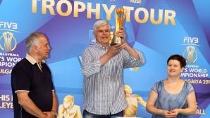Димитър Златанов вдигна световната купа (видео + галерия)