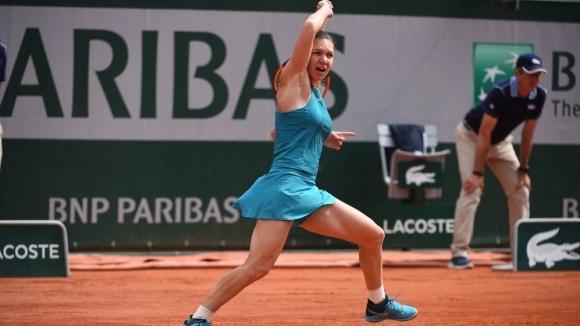Безмилостна Халеп спринтира към 1/4-финалите в Париж