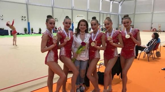 Думите на Илиана, които надъхаха гимнастичките за златен медал