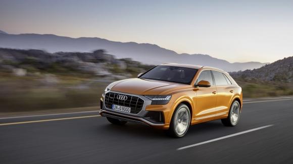 Това е първото Audi Q8