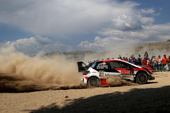 Латвала отновo е най-бърз в шейкдауна на WRC