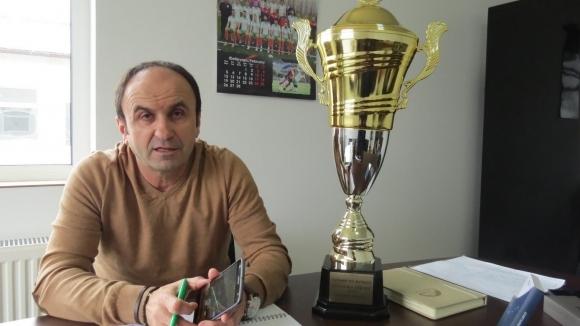 Шеф на новак във Втора лига: Няма проблем да играем на нашия стадион
