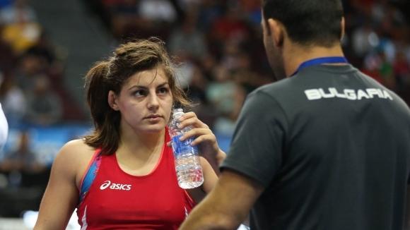 София Георгиева спечели сребро на еврошампионата по борба