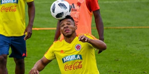 Защитник на Колумбия аут от Световното