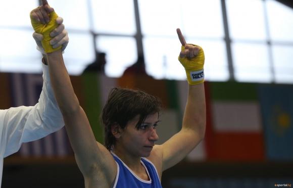 И Стойка Петрова е на полуфинал на Евро 2018