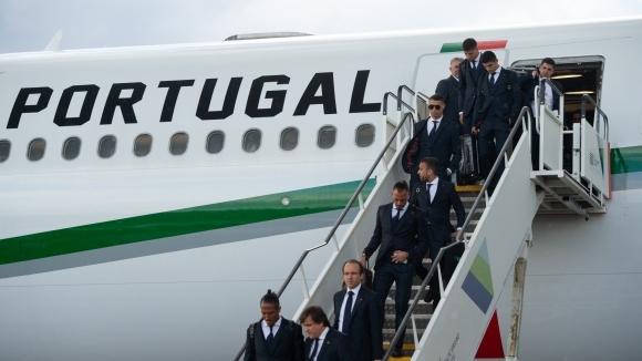 Отборът на Португалия пристигна в Русия