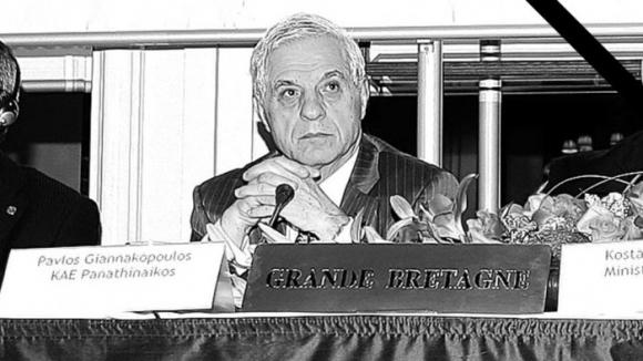 Почина президентът на баскетболния гранд Панатинайкос