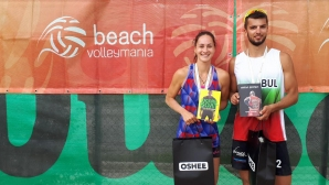 Деси Николова и Мартин Христов спечелиха турнира за смесени двойки от Beach Volley Mania