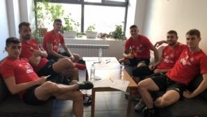 Част от футболистите на ЦСКА-София се подложиха на медицински изследвания
