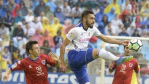 Нумансия излъга Сарагоса с гол в последните секунди и продължава да мечтае за Ла Лига