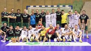 Спартак взе бронза в хандбалното първенство след драма срещу Чардафон (видео)