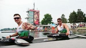 Душев и Бъчваров се класираха 9-и на двойка каяк 200 метра на европейското (видео)