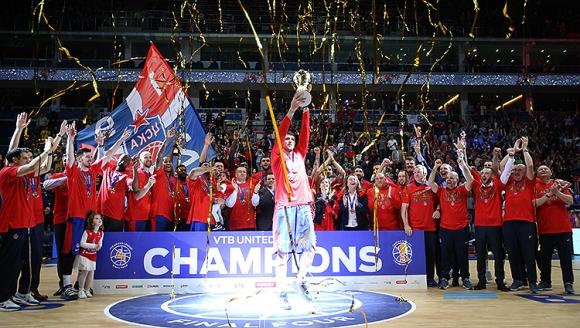 ЦСКА Москва спечели титлата в Русия за седмa поредна година