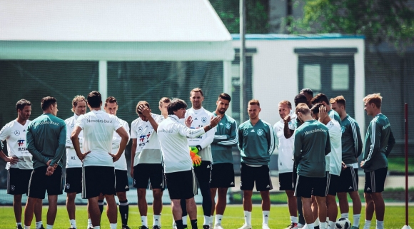 Близо 500 души изгледаха откритата тренировка на Германия