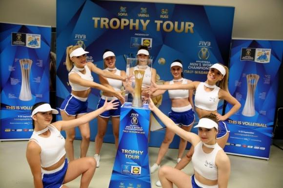 Световната купа по волейбол тръгва на турне с подкрепата на Lidl