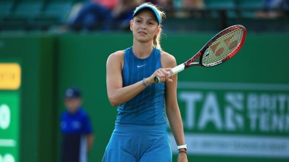 Миналогодишната шампионка Дона Векич отпадна на полуфиналите в Нотингам