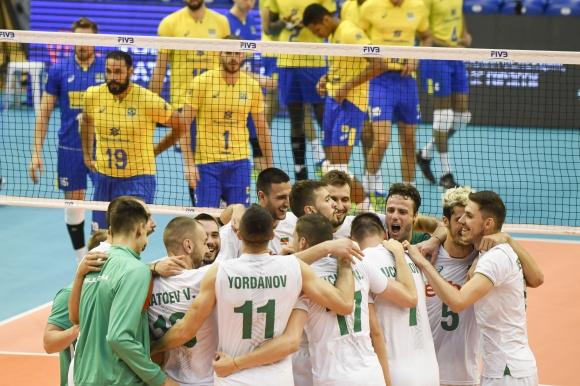 България удари и олимпийския шампион Бразилия във Варна (видео + галерия)