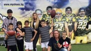 Мис България уважи благотворителен турнир по флаг футбол