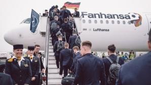 Германците пристигнаха в Москва
