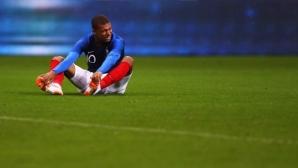 Мбапе стресна Франция дни преди първия им мач