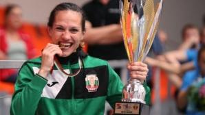 Станимира Петрова е най-добрата боксьорка на Европейското в София