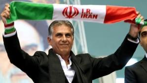 """Селекционерът на Иран Карлош Кейрош нападна """"Найки"""" заради обувки"""