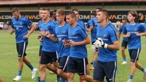 Футболистите на Левски минаха функционални тестове, Обертан почна тренировки